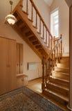 Лестница дома стоковые фотографии rf