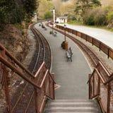 лестница платформы к Стоковые Изображения RF