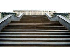 Лестница путь к успеху стоковая фотография rf