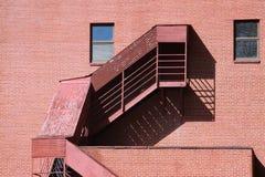 лестница случая здания Стоковая Фотография