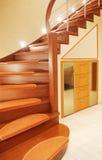 лестница случая Стоковая Фотография
