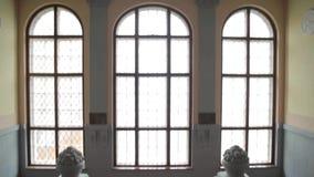 Лестница, старое здание акции видеоматериалы