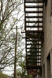 Лестница улицы Стоковое Фото
