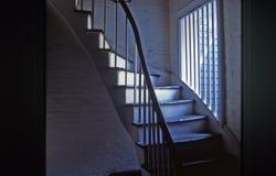 лестница французского квартала стоковое фото