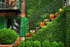Лестница хеллоуина Стоковая Фотография