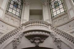 Лестница - художественная галерея - Лилль - Франция Стоковая Фотография