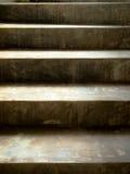 лестница цемента старая Стоковое фото RF
