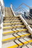 Лестница цемента стоковое фото