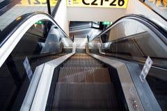 лестница 2 авиапортов moving Стоковое Изображение RF