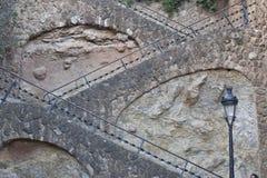 лестница barcelona Стоковое Изображение RF