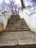 Лестница, Kamenets Podolskiy, Украина Стоковые Фотографии RF