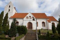 Лестница Lindelse церков Стоковые Изображения