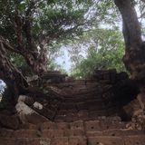 Лестница phu Wat Стоковые Фотографии RF