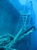 лестница sunken Стоковое Изображение