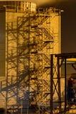 Лестницы башни Стоковая Фотография