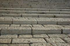 лестницы белые Стоковая Фотография RF
