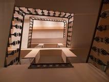 Лестницы внутри здания Стоковое Изображение