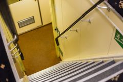 Лестницы в интерьере Стоковое Фото