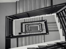 Лестницы в перспективе стоковые изображения rf