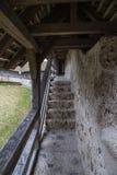 Лестницы в старом замке Стоковые Фото