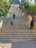 лестницы в lomita стоковые изображения
