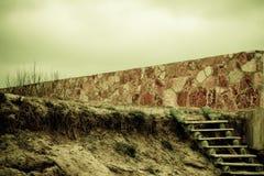 лестницы деревянные Стоковые Изображения