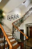 лестницы интерьера конструкции Стоковые Изображения