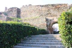 Лестницы и дуга Стоковые Изображения