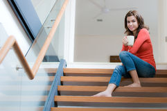 лестницы кофе Стоковая Фотография RF