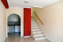 Лестницы к второй этаж испанского дома Torrevieja Стоковые Фотографии RF