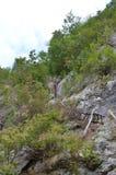Лестницы к деревне Стоковая Фотография RF