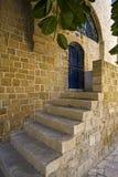 Лестницы к квартире Стоковое фото RF