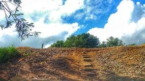 Лестницы к небу Стоковые Фото