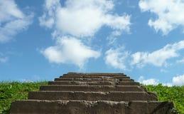 Лестницы к небу Стоковое Фото