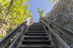 Лестницы к небу Стоковая Фотография