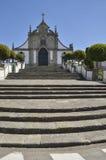 Лестницы к церков Стоковые Фото