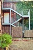 Лестницы металла Стоковые Фото
