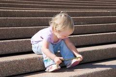 лестницы моря Стоковые Изображения