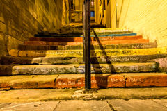 Лестницы музыки. Стоковое Изображение