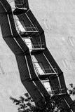 Лестницы на стене Стоковые Фотографии RF