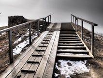 Лестницы на Суоменлинне Стоковые Изображения RF