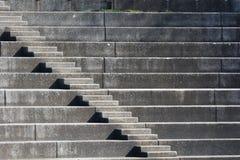 Лестницы на olympiapark стоковая фотография rf