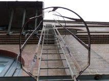 Лестницы огня Стоковые Изображения RF