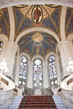 лестницы основы залы Стоковое Изображение