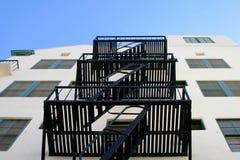 лестницы пожара избежания Стоковые Фотографии RF