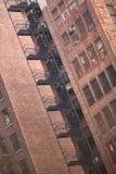 лестницы пожара Стоковые Фото