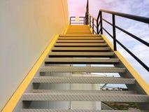 Лестницы пожарной лестницы Стоковая Фотография