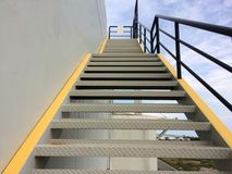 Лестницы пожарной лестницы Стоковое фото RF