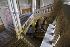 лестницы полетов Стоковое Изображение