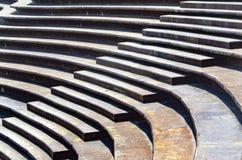 Лестницы предпосылки лестниц архитектурноакустические, плоских и круговых стоковые фотографии rf